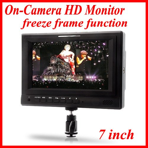 FEELWORLD 679-HD600 7 Inch On-Camera HD Monitor with Tally Light