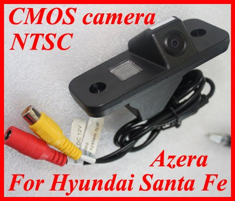 QL-CSTF01  Car Reverse Rearview CMOS camera for Hyundai Santa Fe Azera NTSC +Guard Line