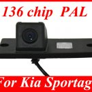 QL-CSPT63  Car Reverse Rearview 136 chip camera for Kia Sportage PAL