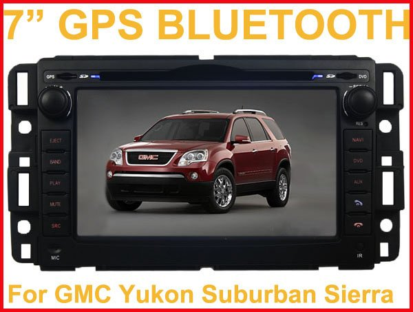 """7"""" DVD player with in dash GPS Navi and RDS PIP for GMC BUICK CHEVY SATURN"""