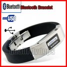 NW-BLUW50 LCD Bluetooth Vibrate Alert Bracelet Watch for phone