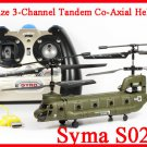 Syma S026G 3 Channels Infrared Control Indoor Outdoor Mini Boeing CH-47 Chinook Helicopter with Gyro