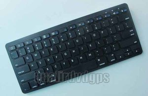FB-WXJP01-BK Ultra-Slim Wireless Bluetooth V2.0 Rechargeable Keyboard For ipad iphone 4 4s
