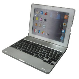 AD-BBJB38 4000mAh Lithium Battery+Wireless Bluetooth Keyboard Case for Apple iPad 2