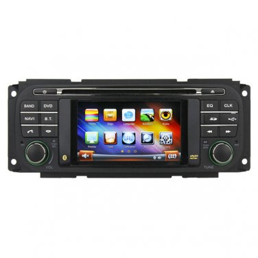 QL-JEP816 AutoRadio GPS DVD Navigation Stereo Headunit for Dodge Ram/Chrysler PT Cruiser