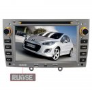 QL-PGT238 For Peugeot 308 308SW 408 GPS für I phone4 CAR DVD Navigation Radio 2DIN Ipod