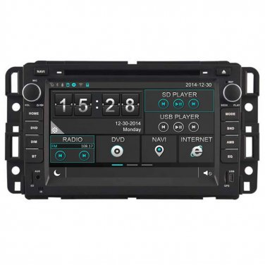 QL-GMC372  3G WIFI Radio DVD GPS SatNav Headunit Stereo for Chevrolet Silverado Aveo GMC