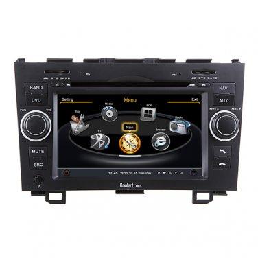 QL-CRV729 OEM Car DVD Player GPS Navigation In-dash Stereo Radio Bluetooth FOR HONDA CRV