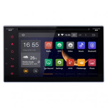 CE91DVD162 3D Pure Android 4.4 2DIN Car DVD Radio GPS Stereo Wifi OBD2 BT 1.6GHz A9 chipset