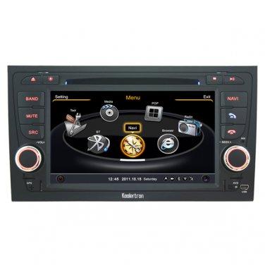 QL-ADI764 Car Stereo Multimedia Radio for Audi A4 S4 Autoradio DVD GPS Navigation 3G WIFI