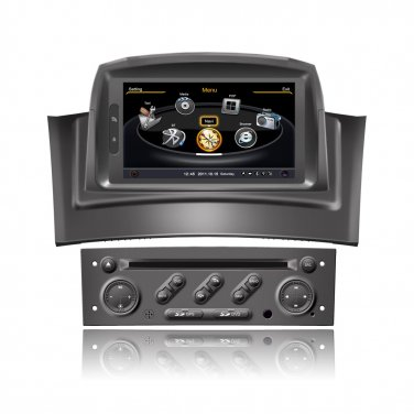 QL-REN798 For Renault Megane 2 II 3G WIFI IPOD Auto Radio GPS SatNav Stereo DVD Headunit