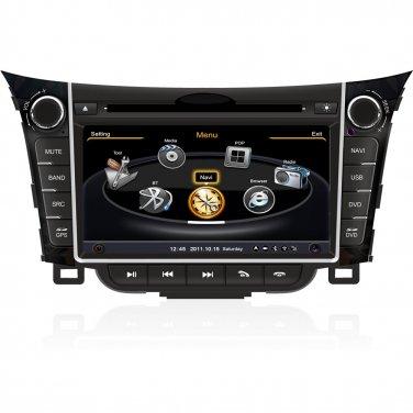 QL-HYD756 For 2013 2014 Hyundai I30 Dual Core DVD GPS Navigation Stereo Radio Head-unit