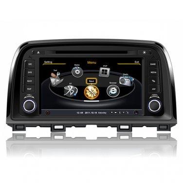 QL-MZC723 For MAZDA CX-5 2013-2014 Auto Dual Core DVD GPS SatNavi Stereo Radio Headunit