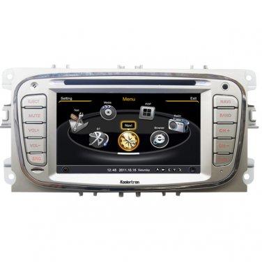 QL-MDO713 Car Stereo for Ford Focus S-max Kuga Mondeo GPS Navigation Autoradio Sat Nav DVD