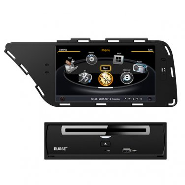 QL-ADI765 Car DVD Auto Radio Headunit GPS Navigation SatNav Stereo for Audi A4 A5 S4 08-13