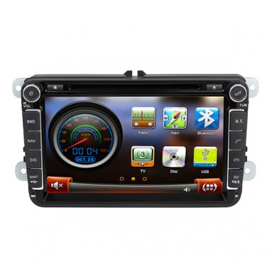 "QL-VWG992 8"" Car Stereo for VW Passat Jetta Golf GPS Navigation Headunit DVD Radio Satnav"