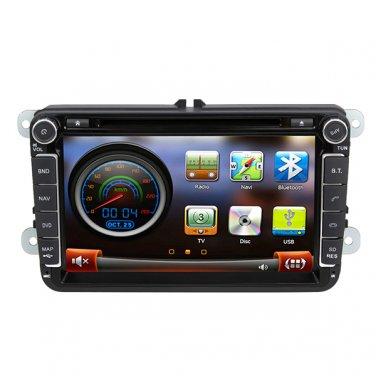 """QL-VWG992 8"""" Car Stereo for VW Passat Jetta Golf GPS Navigation Headunit DVD Radio Satnav"""
