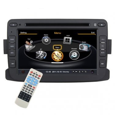 QL-REN767 car DVD GPS Radio TV Navigation Head units HD LCD RDS 3G Ipod for Renault Duster