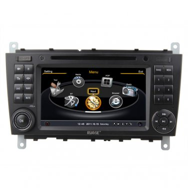 QL-BNZ893 3G WIFI DVD GPS SAT Navi Radio for Mercedes Benz C-Class W203/CLK W209
