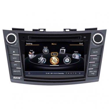 QL-SWF751 3G WIFI Auto Radio GPS Sat Navi Headunit Stereo DVD FOR 2010 2011 SUZUKI Swift