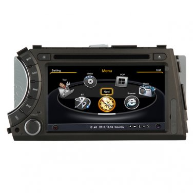 QL-SAY758 A8 HD Car DVD 20VCDC 3G WIFI Navi Radio RDS For SsangYong Kyron Actyon 2005-2012