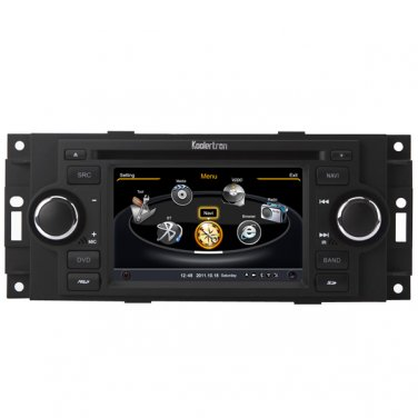 QL-JEP726 Car Stereo GPS Navigation DVD Radio for Jeep Cherokee Commander Compass Patriot