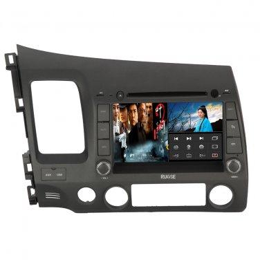 QL-CVC734 Autoradio for Honda CIVIC GPS Navigation Multimedia Satnav Bluetooth DVD 3G WIFI