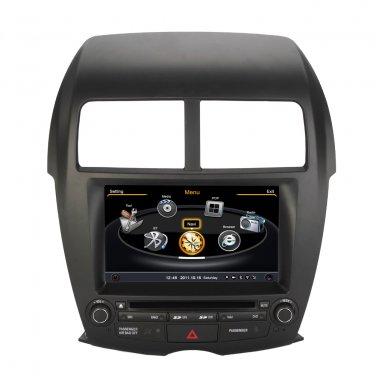 QL-ASX736 AutoRadio GPS Navigation SatNav Stereo DVD Multimedia for Mitsubishi ASX RVR