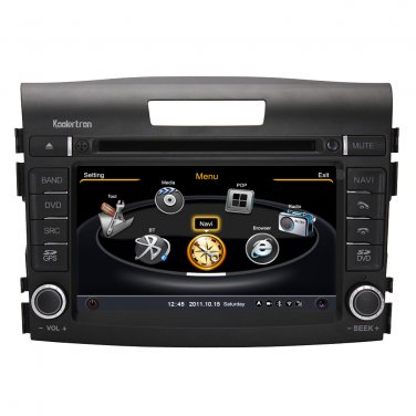 QL-CRV730 Car Stereo for Honda CR-V CRV 2012+ GPS Navigation Bluetooth Radio DVD 3G WIFI