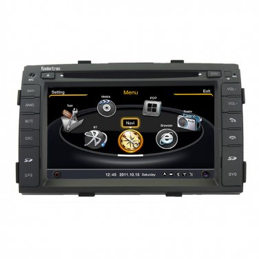 QL-KIA751 Navi Radio/3G/WIFI/3ZONE/IPOD DVD GPS Navigation for Kia Sorento 2009 2010 2011