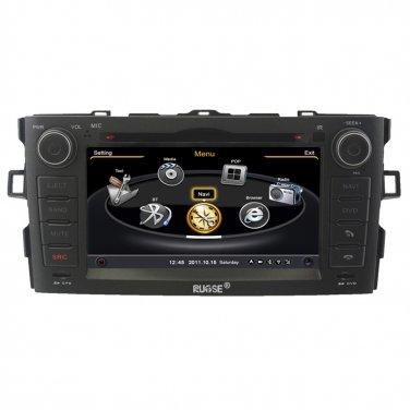 QL-ARS738 OEM 3G/WIFI Multimedia Navi DVD GPS Navigation Stereo for Toyota Auris 2007-2011