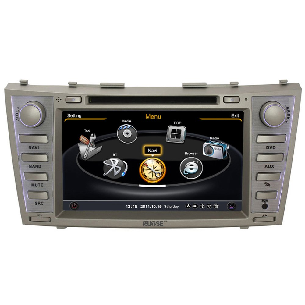 ql cmr714 dual core car radio dvd gps navigation stereo. Black Bedroom Furniture Sets. Home Design Ideas