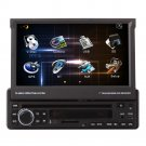 "CE91DVD518 UNIVERSAL FIT 7""TOUCHSCREEN CD/DVD/MP3 PLAYER GPS NAVIGATION RECEIVER BLUETOOTH"