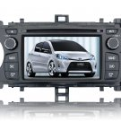 QL-YAS746 2 DIN AutoRadio DVD GPS Navigation Stereo For 2012 Toyota Yaris + AM/ FM/ RDS