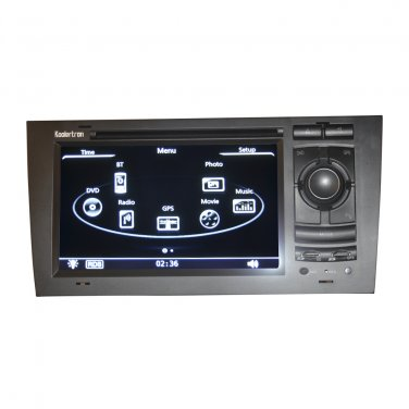 QL-ADI646 For 1997-2004 Audi A6 (C5) sedan/Avant DVD GPS Navigation Stereo Auto Radio