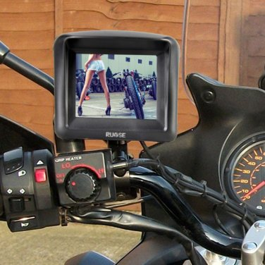 "MT10GPS350 3.5""Touchscreen waterproof Motorcycle GPS Navigation Bluetooth Car Bike motor"