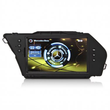 CE91GLK015 3rd Upgrade Multimedia Car GPS Navigation Bluetooth For Benz GLK 300 2010-2012