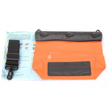 HE-QSYB09-OR Tteoobl Underwater 20M Waterproof Camera bag case Pouch Waist Packs for Things