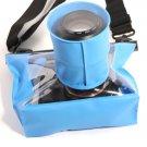 HE-DFFS05-LBL 20M Underwater Waterproof Case DSLR SLR For Canon 6D 600D 650D Nikon D7100 D600