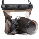HE-DFFS05-LTN 20M Underwater Waterproof Case DSLR SLR For Canon 6D 600D 650D Nikon D7100 D600