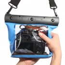HE-DFFS01-MBL 20M Underwater Waterproof Case DSLR SLR For Canon 550D 5D2 7D 60D Nikon D700