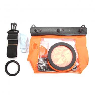 HE-DFFS01-MOR 20M Underwater Waterproof Case DSLR SLR For Canon 550D 5D2 7D 60D Nikon D700