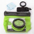 HE-DFFS01-MGR 20M Underwater Waterproof Case DSLR SLR For Canon 550D 5D2 7D 60D Nikon D700