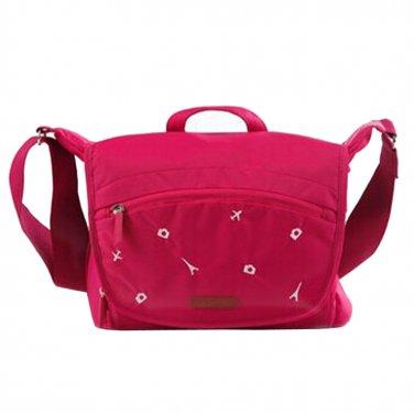AS-NLBB02-RD KAMLUI Waterproof Women Camera Shoulder Messenger Carry Bag For Canon Nikon