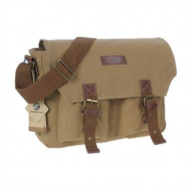 AS-KSFB35-YE Koolertron Canvas DSLR Camera Bag Shoulder Messenger Bag for Canon Nikon Pentax