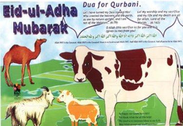 Eid-ul-Adha Activity Card
