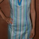 Cotton Elegant Stephanie Beare Blue Dress 10
