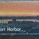 Newport Harbor 1977/78 Map