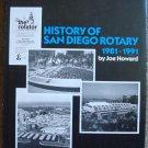 History of San Diego Rotary Club 33 1981-1991