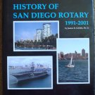 History of San Diego Rotary Club 33 1991-2001